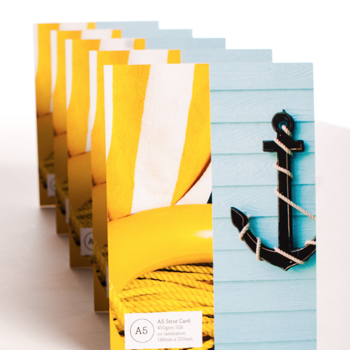 Strut Cards & Table Talkers York